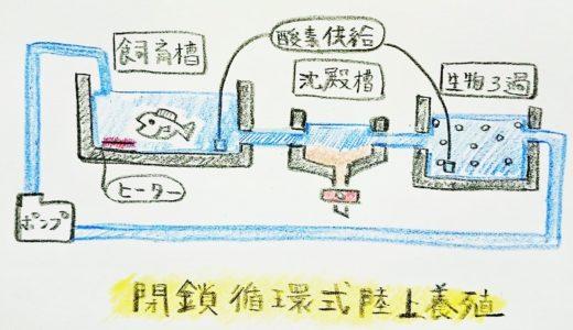 「循環式養殖」の特徴と水質管理について