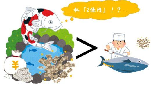錦鯉が2億円以上!?なぜ錦鯉に「高値」がつくのか?